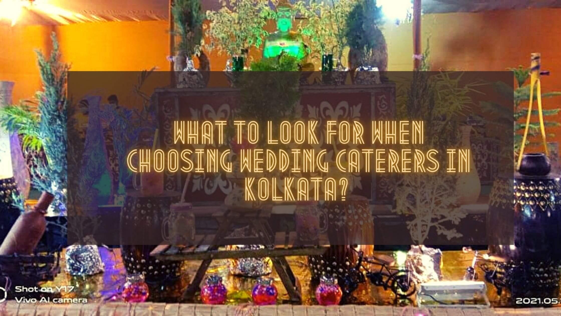 Wedding Caterers in Kolkata